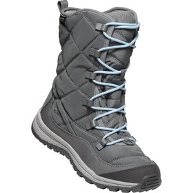 Keen Terradora WP Schnürstiefel Damen steel grey/forget me not